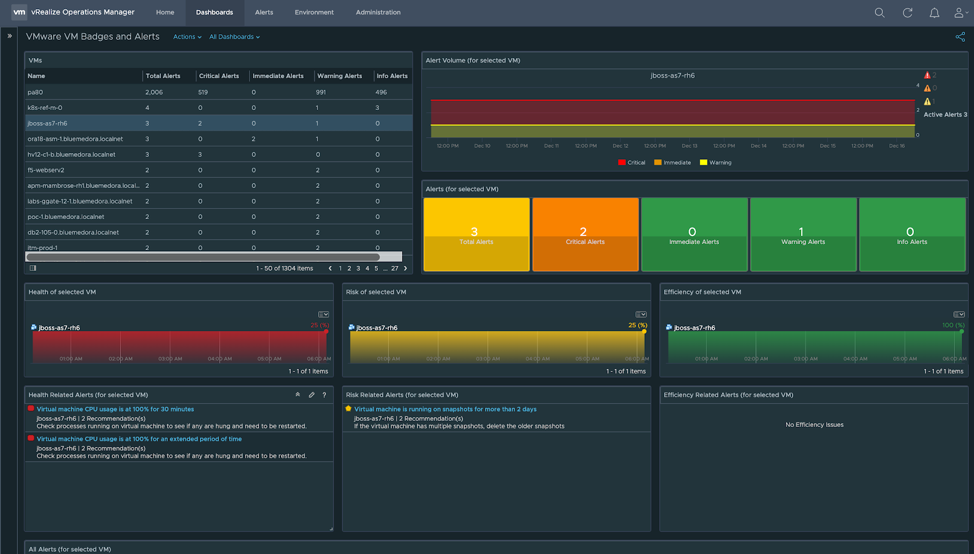 How to Use vRealize Operations Alerts