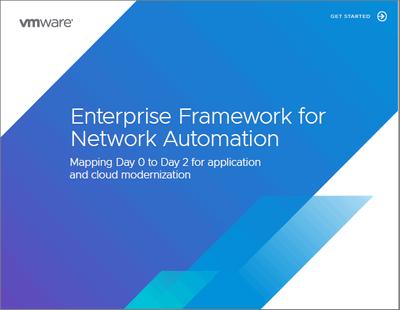 Network Automation Enterprise Framework