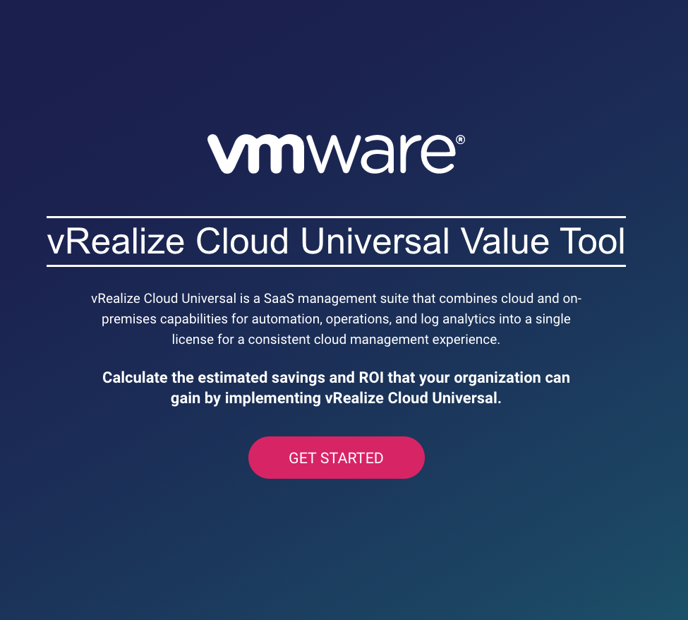vRealize Cloud Universal