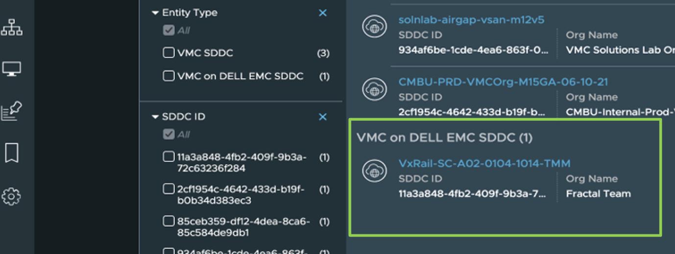 VMware Cloud on DellEMC SDDCs