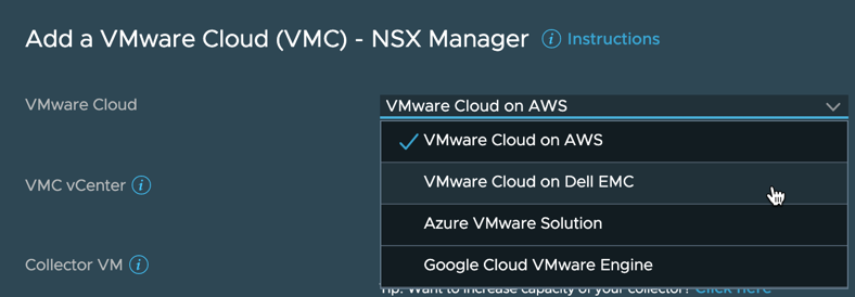VMware Cloud NSX Manager